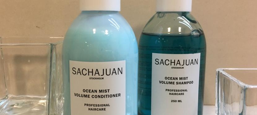 Champú y acondicionador Ocean Mist Volume de SACHAJUAN, pelo con volumen sin peso niencrespamiento
