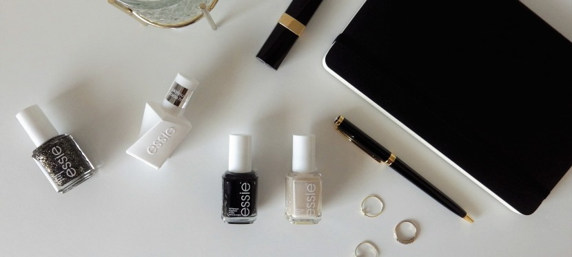 Three ways to wear black nail polish