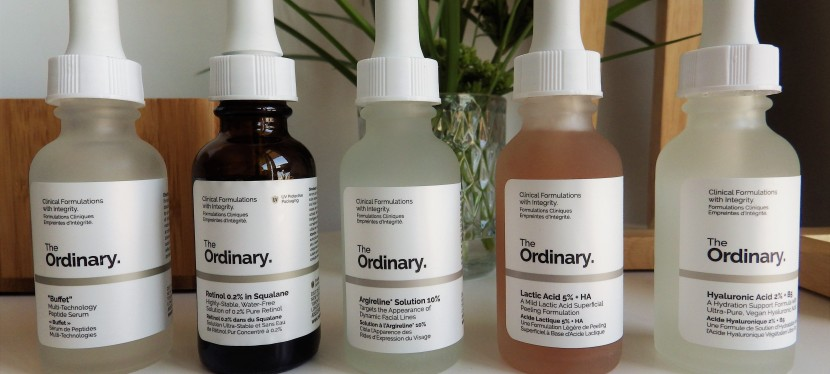 THE ORDINARY serums for sensitive skin